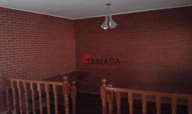 Casa assobradada, terreno 10x30m, 03 vagas, 04 dormitórios, suíte, à venda, 195 m² por R$  - Foto 18