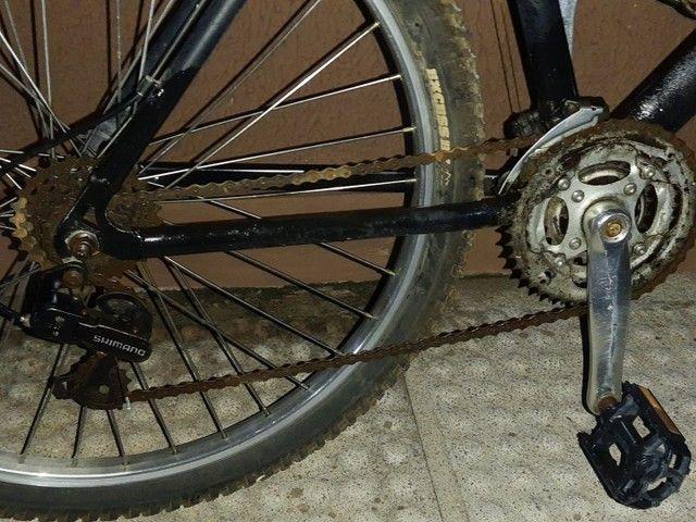 Bicicleta em alumínio com nota fiscal - Foto 6