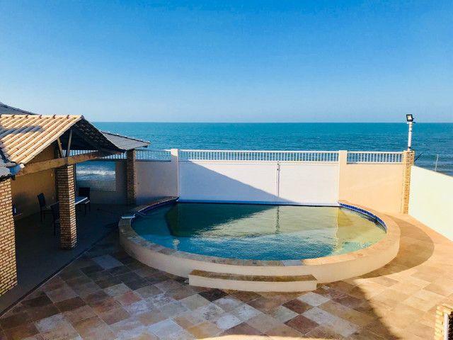 Casa de Praia ALTO PADRÃO e STATUS Diferenciado Frente ao mar Iparana - Foto 9
