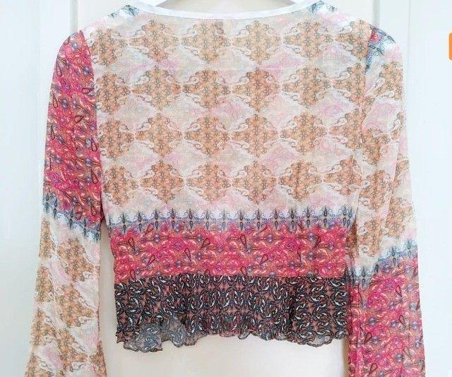 blusa boho p - Foto 3