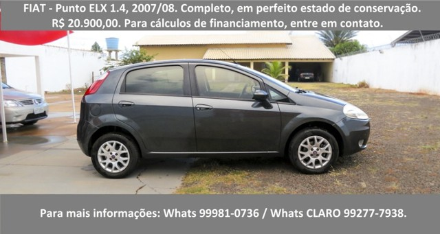 Fiat - Punto ELX 1.4  - Foto 2