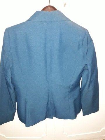 Conjunto azul, calça e blusa - Foto 2