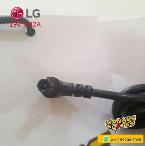 Fonte Notebook LG 19V 3.42A Ponta Padrão Novo c/ Garantia - Foto 3