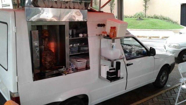 Fiorino furgão flex 2012/ Oportunidade/ churrasco grego  - Foto 2