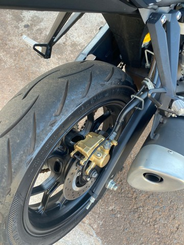Yamaha r3 monster sem arranhão bem nova  - Foto 3
