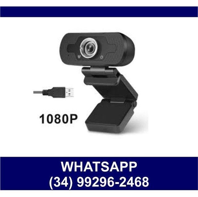 WebCam Câmera Full Hd 1080p para Computador Usb