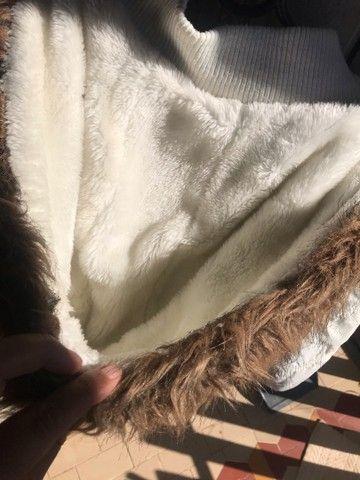 Jaqueta de pelinhos tamanho g - Foto 4