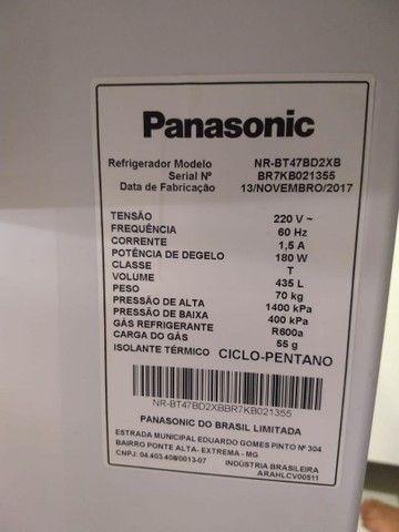 Geladeira Duplex Panasonic 435L - 220V - Foto 2