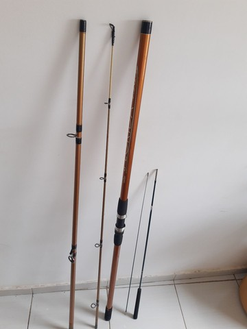 Vara de pescar pouco tempo de uso  - Foto 6