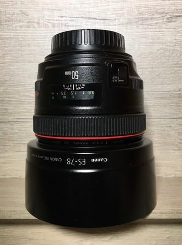 Lente cânon EF 50mm F/1.2 L Usm - Foto 2