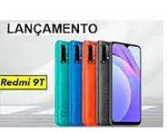 Redmi 9T 64 GB Bateria 6000 mAh Cinza/Azul  - Foto 2