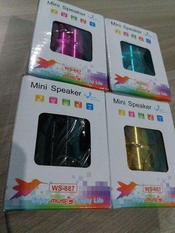 C.Som Speaker - entrada usb,Sd  - Foto 3