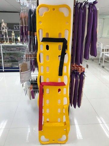 Prancha de bombeiro ? de polietileno com jogo de cintos ortofex  - Foto 2