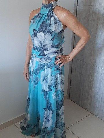 Vestido de festa usado pela mãe de noivo - Foto 3