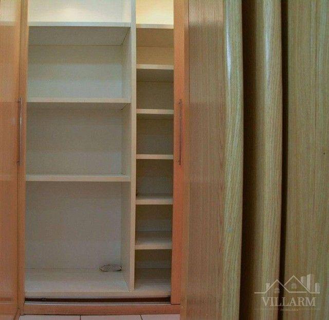 Apartamento com 4 dormitórios para alugar, 196 m² por R$ 5.700,00/mês - Vila Santo Estéfan - Foto 16