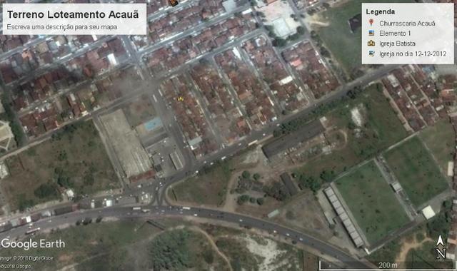 Terreno, Loteamento Acauã, rua asfaltada - Foto 6