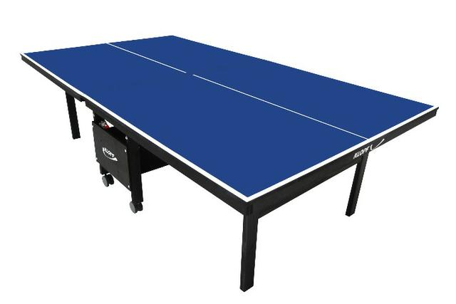 Mesa De Ping Pong (tenis Mesa) Klopf 1084 Mdf 18mm Dobravel - Foto 4