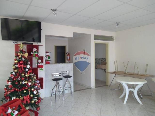 Apartamento com 2 dormitórios para alugar, 55 m² por r$ 600,00/mês - candeias - vitória da - Foto 11