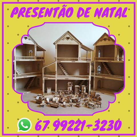 Casinha de boneca - Pedidos para o natal