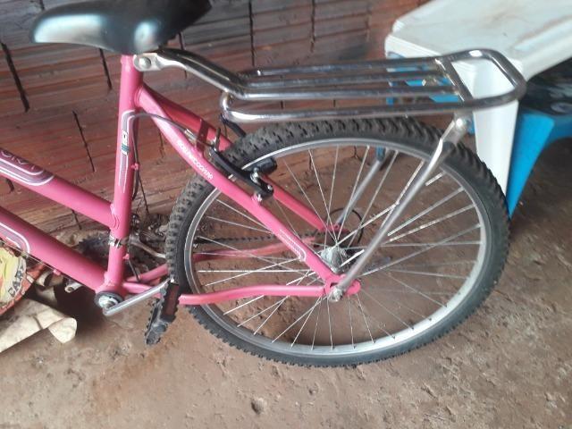 Vendo bicicleta alegra cite valor normal 500 na loja - Foto 4