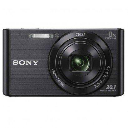Câmera Digital Sony Cyber Shot Lcd De 2,7' 20.1mp Dsc-W830 Preto - Foto 2