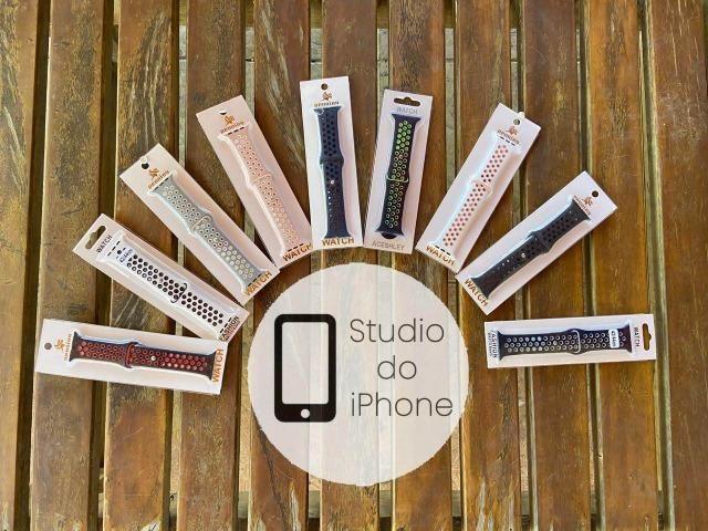Pulseiras para Apple Watch. Promoção! Aceitamos Cartão!
