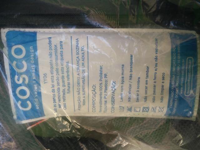 Assento infantil - Cosco - 2 unidades azul e rosa - NOVO! - Foto 4