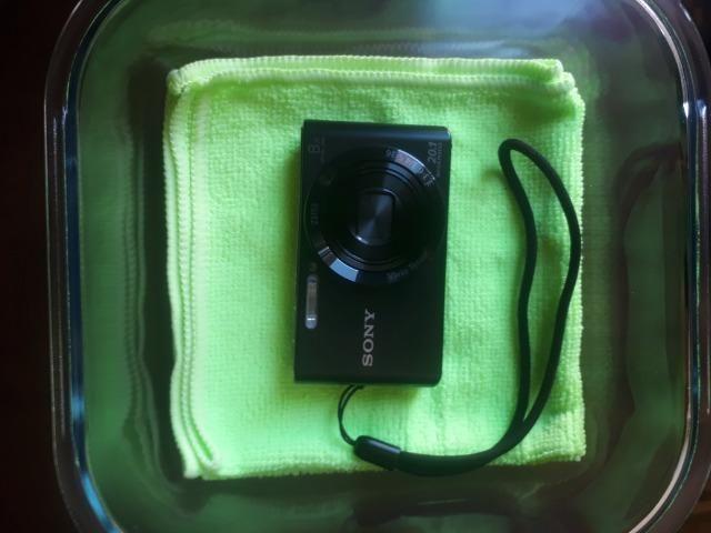 Câmera Digital Sony Cyber Shot Lcd De 2,7' 20.1mp Dsc-W830 Preto - Foto 6