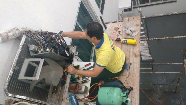 Conserto e instalação em ar condicionado - Foto 2