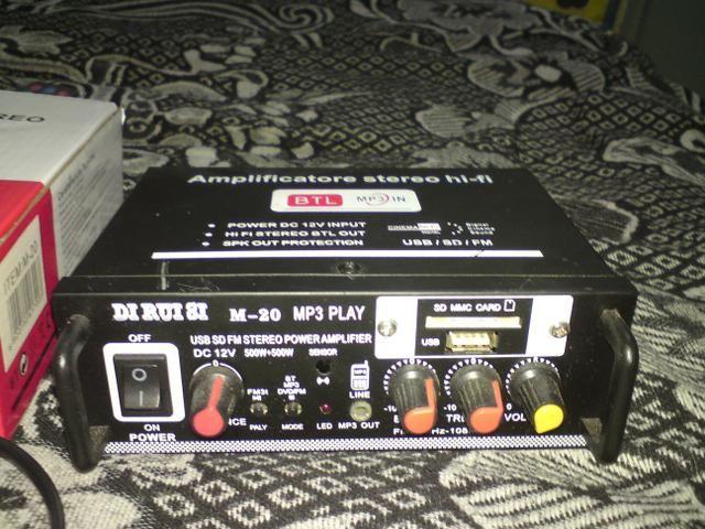Amplificador de som - Foto 2