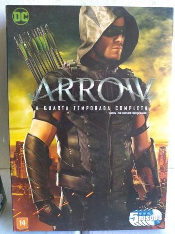 Box DVD ORIGINAL Arrow 1ª a 5ª Temporada - Foto 4
