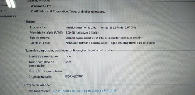 Notebook sony vaio pronto para uso tudo instalado Antivírus para 02 anos - Foto 4