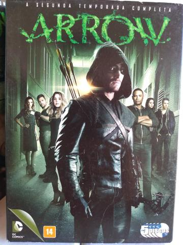 Box DVD ORIGINAL Arrow 1ª a 5ª Temporada - Foto 2
