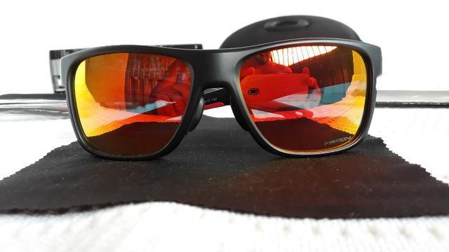 96cc6c014fcae Óculos Oakley Crossrange XL Preto Rubi Prizm - Importado ...
