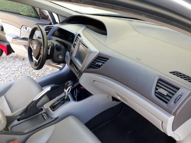 Honda Civic 2.0 LXR com kit multimídia original Honda 2013 - 2014 - Foto 11