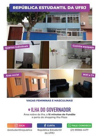 Quarto Individual para estudantes do Fundão (Área nobre da Ilha do  Governador) 9703b88581