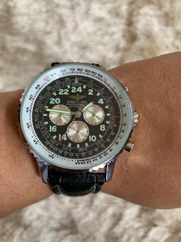 46b7e285b58 Relógio Breitling Automático - Bijouterias