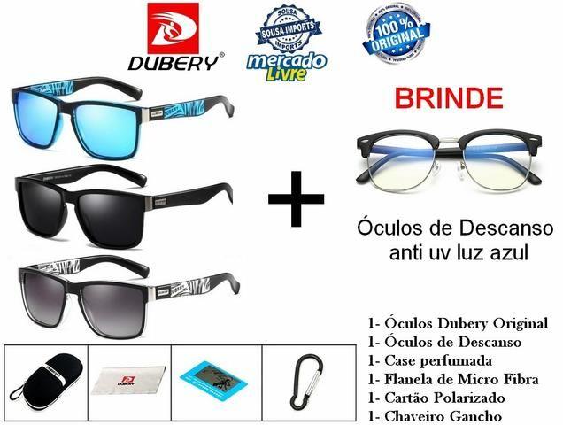 Óculos de Sol Original DUBERY Lente com Proteção UV - Entregamos ... 1eb494b4b2