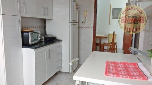Apartamento com 1 dormitório à venda, 61 m² por R$ 225.000 - Boqueirão - Praia Grande/SP - Foto 8