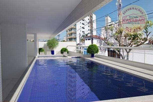 Apartamento com 2 dormitórios à venda, 72 m² por R$ 362.373 - Cidade Ocian - Praia Grande/ - Foto 15