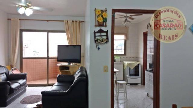 Apartamento com 1 dormitório à venda, 61 m² por R$ 225.000 - Boqueirão - Praia Grande/SP - Foto 4