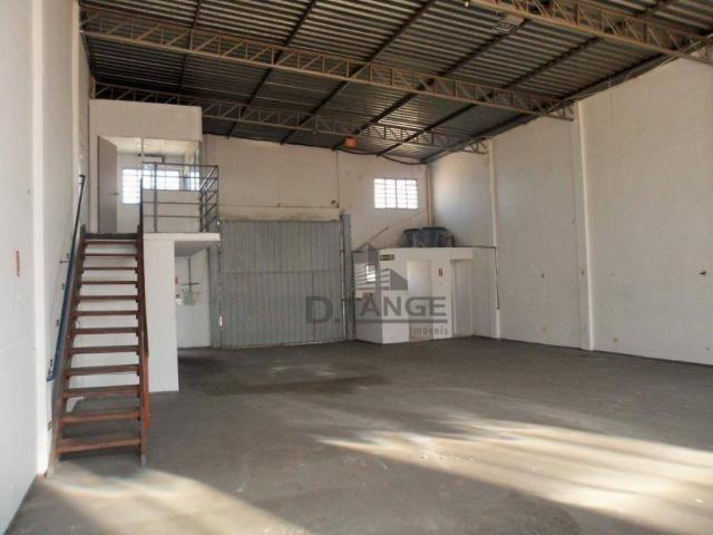 Barracão para alugar, 265 m² por r$ 4.200,00/mês - loteamento parque são martinho - campin - Foto 4