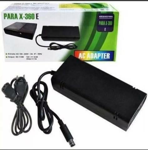 (NOVO) Fonte Xbox 360 Super Slim 120w Bivolt 110/220v (1 pino) - Foto 2
