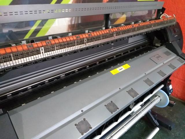 Plotter HP Latex L26500 impressora Lona e Adesivo - Foto 3