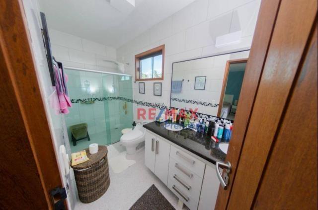 Casa com 3 dormitórios à venda, 250 m² por r$ 1.200.000 - condomínio verdes mares - ilhéus - Foto 12