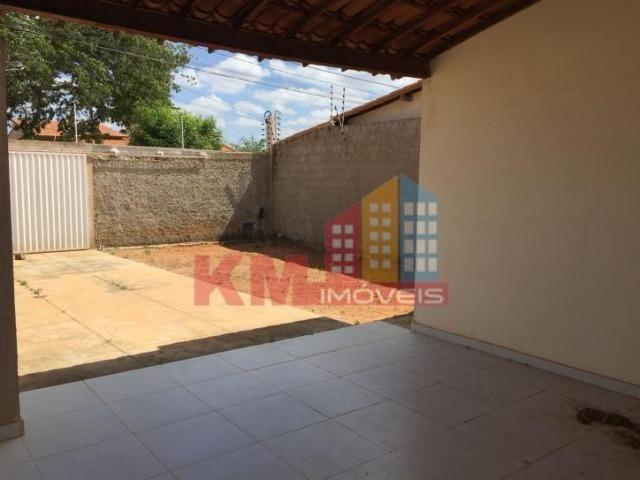 Aluga-se Casa Recém Construída no Três Vinténs - KM IMÓVEIS - Foto 3