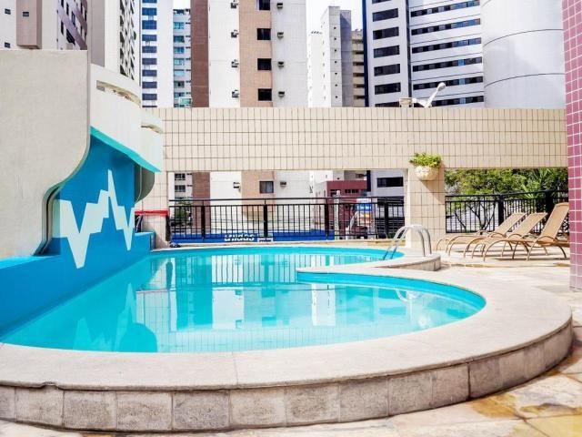 Flat com 1 dormitório à venda, 34 m² por r$ 205.000,00 - meireles - fortaleza/ce - Foto 9