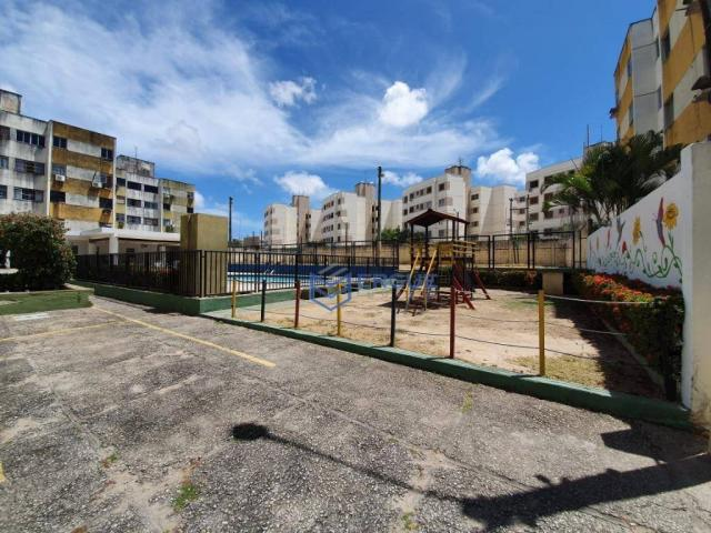 Apartamento com 3 dormitórios à venda, 64 m² por r$ 165.000 - cidade dos funcionários - fo - Foto 2