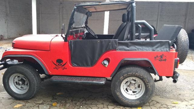 Jeep Willys 1977 4X4 Com Reduzida