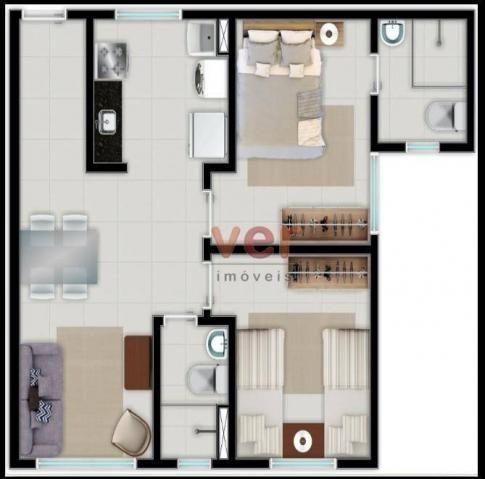 Apartamento à venda no centro da Caucaiapor R$ 124.990 - Padre Romualdo - Caucaia/CE - Foto 2